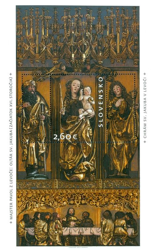 Oltář sv. Jakuba v Levoči