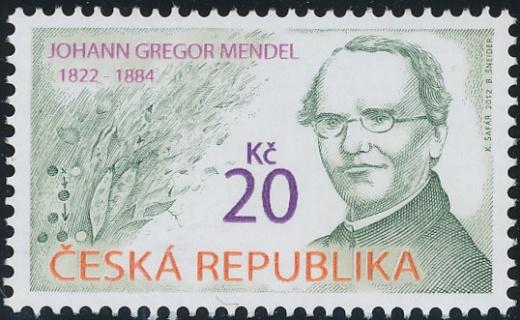 Osobnosti - Johann Gregor Mendel (1822 - 1884)
