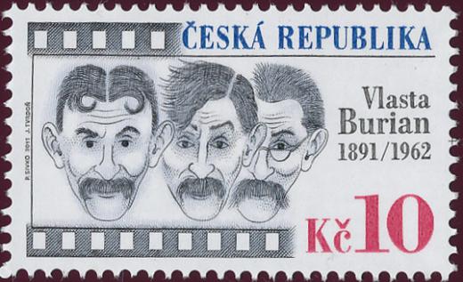 Osobnosti - slavní Češi: Vlasta Burian