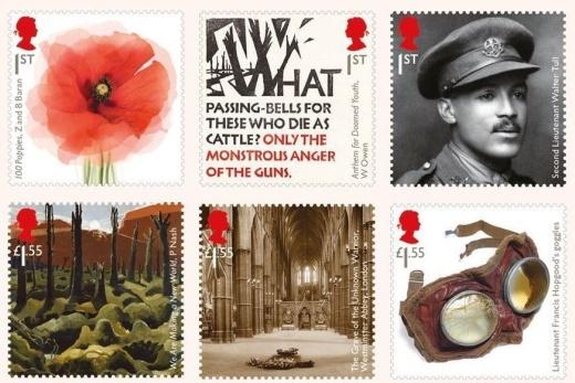 Pátá britská emise - Velká válka 1914-1918