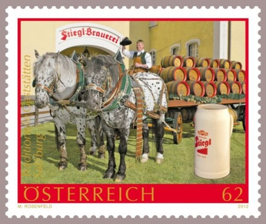 Pivo na známkách