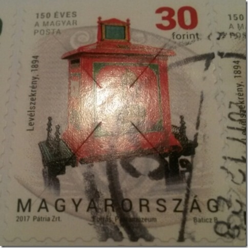 Podobnosť ochranných prvkov poštových známok