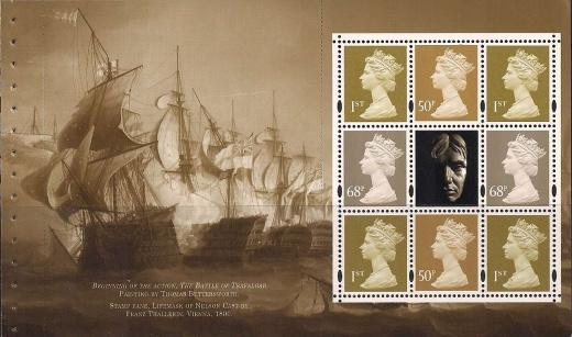 Posmrtná maska Admirála Nelsona