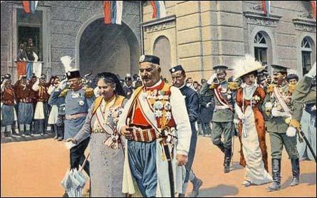 Poštovní historie Černé Hory II.