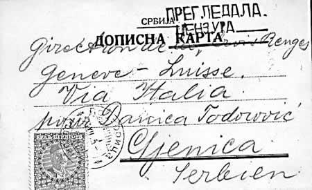 Poštovní historie Černé Hory XII.