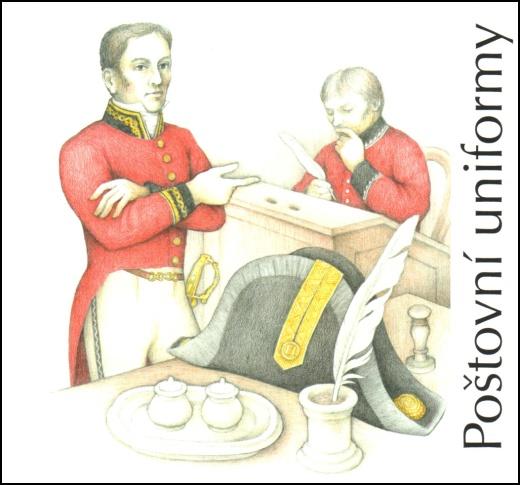 Poštovní uniformy – známkový sešitek