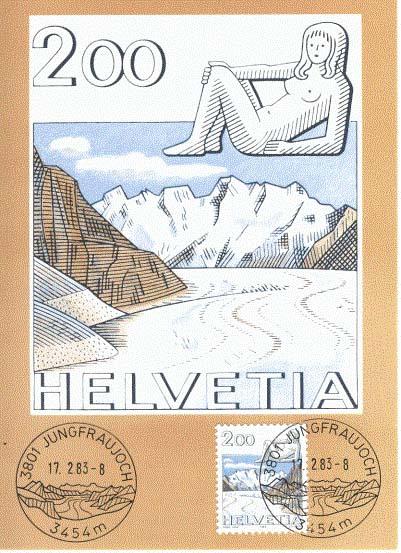 Poštovní úřad v nadmořské výšce 3454 m