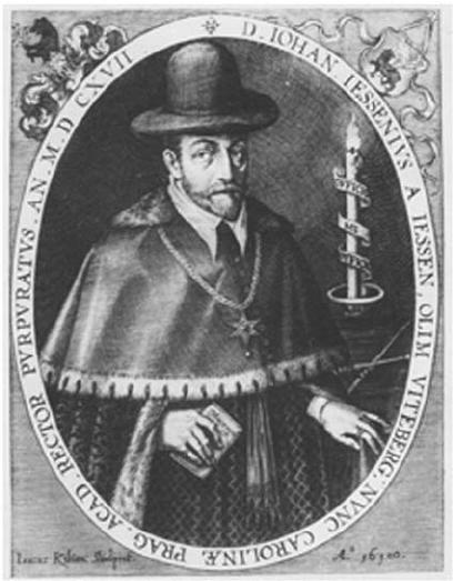 Poznámka kvýtvarnému návrhu známky J. Jessenius