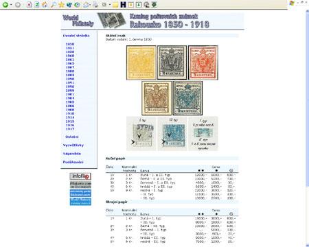 Právě vychází: CD-ROM World Philately 2006 – Rakousko (1850-1918)