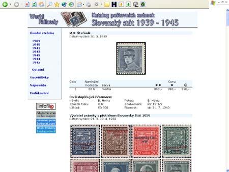 Právě vychází: CD-ROM World Philately 2006 – Slovenský stát (1939-1945)