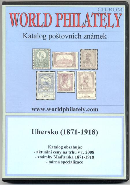 Právě vychází: CD-ROM World Philately 2008 – Uhersko (1871-1918)