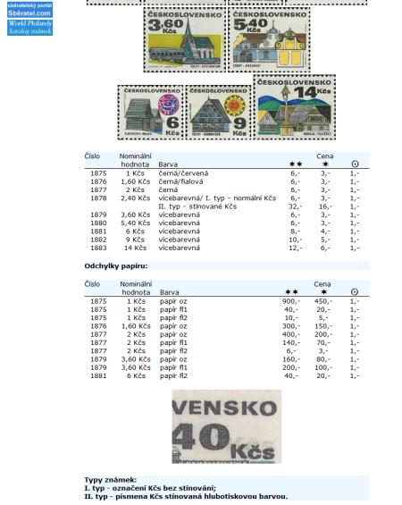 Právě vyšlo! Katalog poštovních známek - Československo (1945-1992) - World Philately 2010
