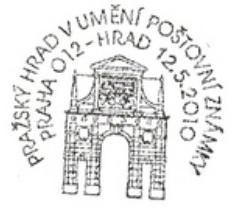 Pražský hrad v umění poštovní známky