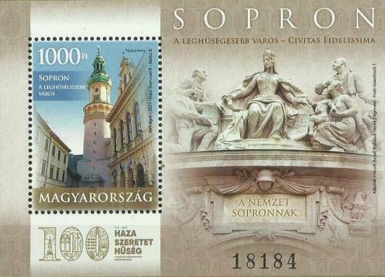 Před sto lety bylo rozhodnuto o maďarském městě Šoproň