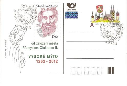 Přemysl Otakar II. ve Vysokém Mýtě