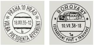 PRESSFIL: Katalog příležitostných poštovních razítek Československá republika 1918-1939