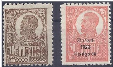 Přetisk Ziaristi 1920 Ujságirók