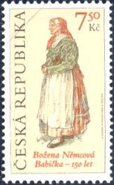 První vydání Babičky od B. Němcové - 1855