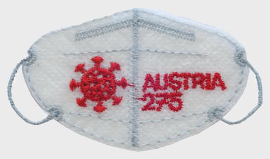 Rakouská známka - FFP2