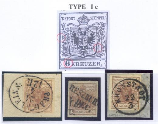 Rakousko emise 1850-1863: nebezpečné padělky a špatně určené typy