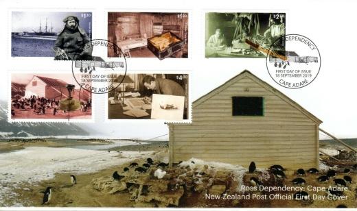 Ross Dependency - Cape Adare