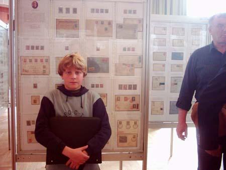 Rozhovor s mladým vystavovatelem Ondrou Michalcem