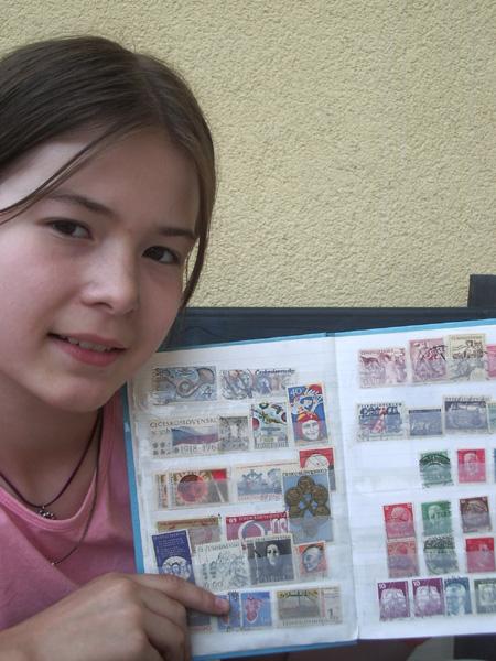 Rozhovor s nejmladší redaktorkou Mladého sběratele Kristinou Hončarivovou