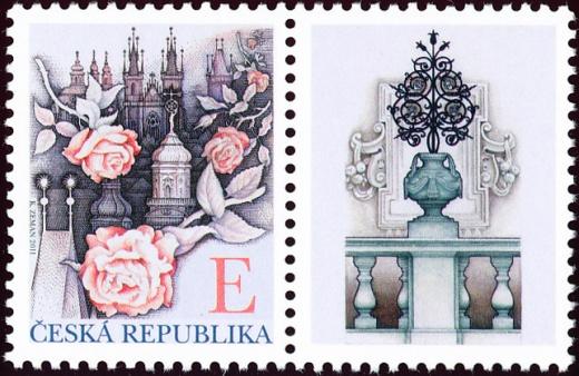 Růže nad Prahou - E