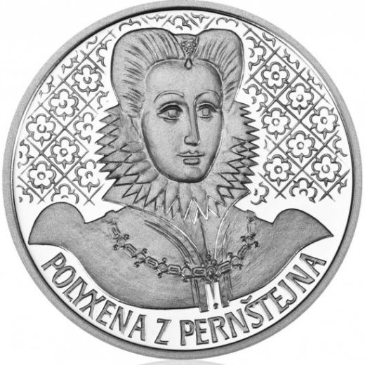 Sada 4 stříbrných medailí Poslední Rožmberkové proof