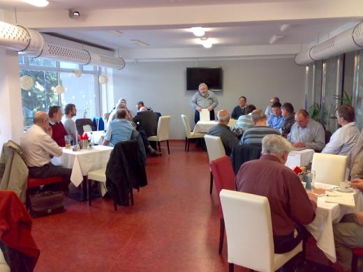 Schůzka občanského sdružení Geophila Brno 2013