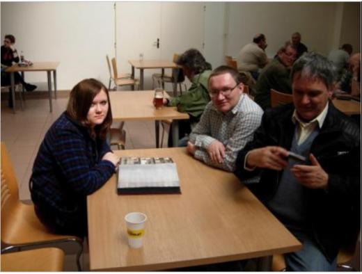 Setkání při kávě členů diskusního fóra Infofily a Sberatel.com