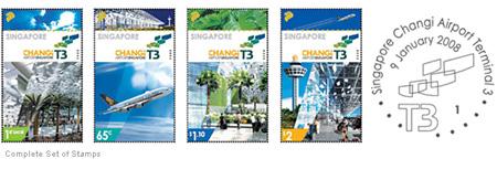 Singapůrské poštovní známky