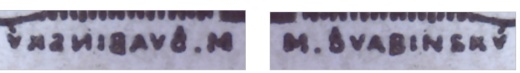 Skúšobné tlače 125 h TGM 1920 rastrová tlač
