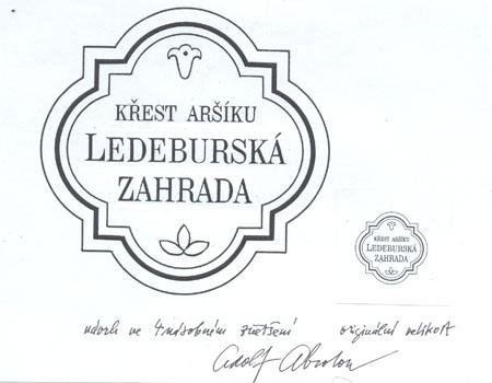 Slavnostní křest aršíků Ledeburská zahrada v Praze – PRAGA 2008 a Ochrana přírody – Třeboňsko