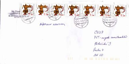 Současný poštovní provoz v ČR pohledem filatelisty