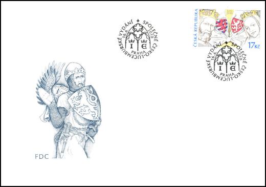Společné vydání s Lucemburskem: 700 let od nástupu Lucemburků na český trůn