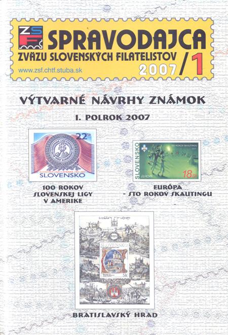 Spravodajca ZSF 1/2007