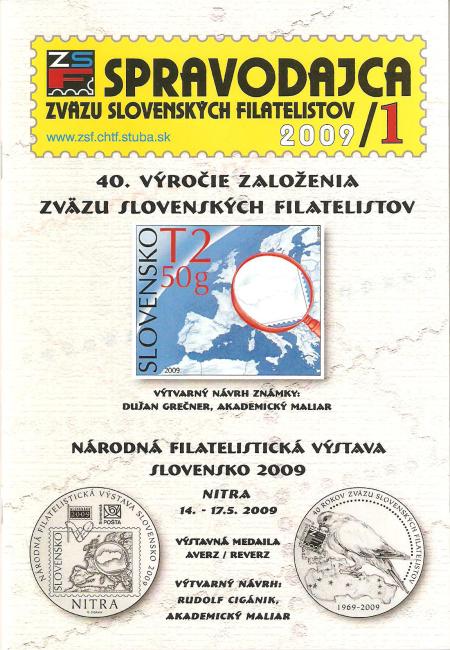 Spravodajca ZSF 1/2009