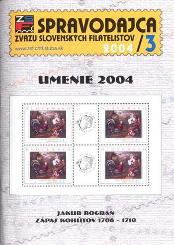 Spravodajca ZSF 3/2004