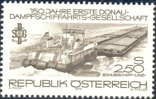 Stejný námět na rakouské známce a na příležitostném razítku
