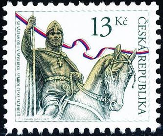 Sv. Václav - 13 Kč