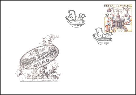 Světový den pošty - Poštovní muzeum Vyšší Brod