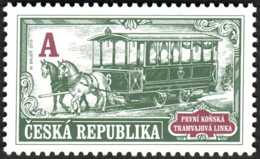 Technické památky - První koňská tramvajová linka