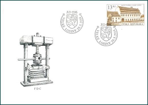 Technické památky - Ruční papírna ve Velkých Losinách