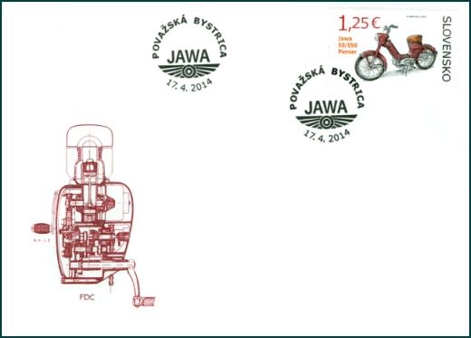 Technické pamiatky: Historické motocykle - Jawa 50/550 Pionier