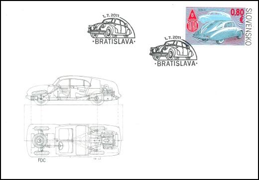 Technické pamiatky: Historické vozidlá – aerodynamická Tatra 87