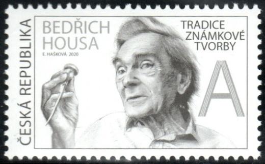 Tradice české známkové tvorby - Bedřich Housa
