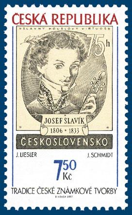 Tradice české známkové tvorby - J. Liesler