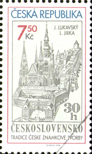 Tradice české známkové tvorby - J. Lukavský