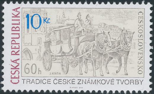 Tradice české známkové tvorby – Josef Herčík